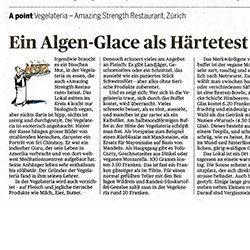 Artikel im TAGES-ANZEIGER, Zürich, vom 28. April 2015