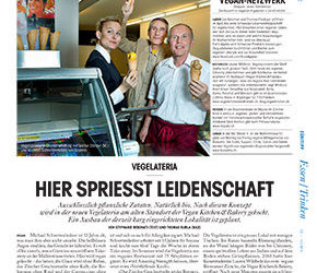 Züritipp Tages Anzeiger,  7 Feb 2013