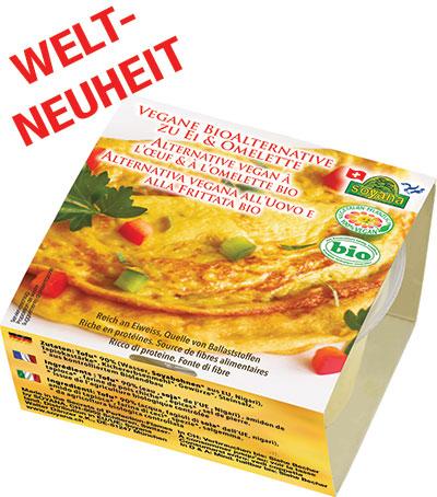 Vegane Bioalternative Zu Ei Omelette Soyana The Secrets Of